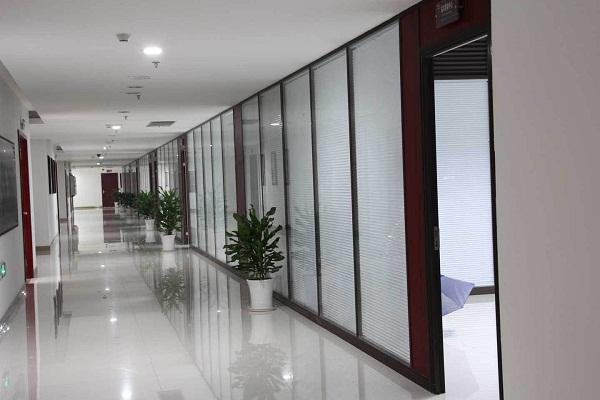 双波百叶玻璃隔断-(2)