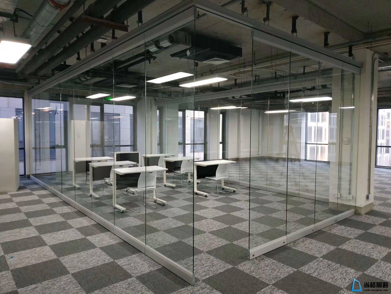 定制室内办公玻璃隔断