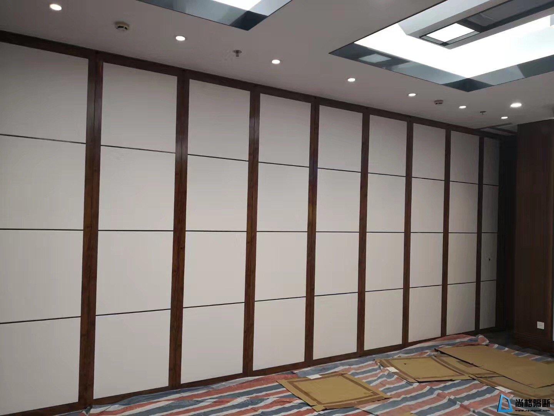 酒店特色材质设计板材活动隔断